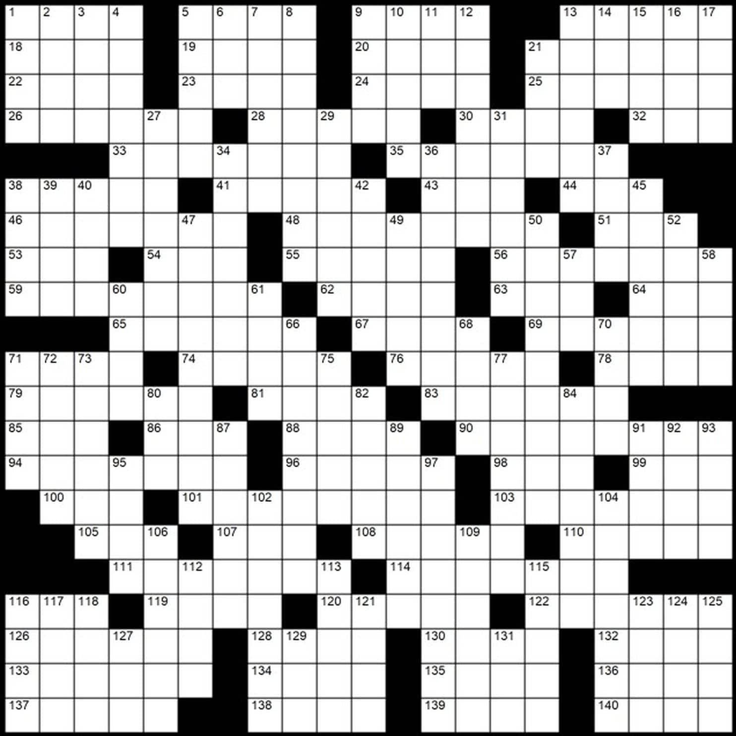 "Evan Birnholz's Dec. 30 Post Magazine Crossword, ""Dropping The Ball - Printable Sunday Crossword Washington Post"