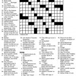 Even Odds Sports Themed Crossword Puzzle   Printable Crossword Puzzles About Sports