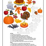 Fall Crossword Puzzle Printable | Halloween | Word Puzzles, Puzzles   Fall Crossword Puzzle Printable