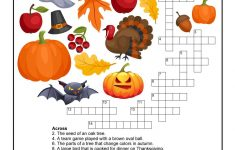 Fall Crossword Puzzle Printable | Halloween | Word Puzzles, Puzzles – Fall Crossword Puzzle Printable