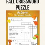Fall Crossword Puzzle | Printables | Word Puzzles, Crossword, Puzzle   Printable Reading Puzzles