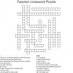 Fascism Crossword Puzzle Crossword   Wordmint   Printable German Crossword Puzzles