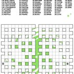 Fill In Crossword Criss Cross Puzzle | Free Printable Puzzle Games   Printable Crossword Fill In Puzzles