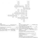 First Aid Crossword Puzzle Crossword   Wordmint   Printable Crossword Puzzle First Aid