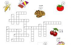 Printable Food Puzzle