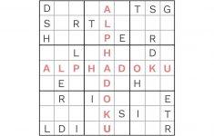 Printable Sudoku Puzzles Medium #3