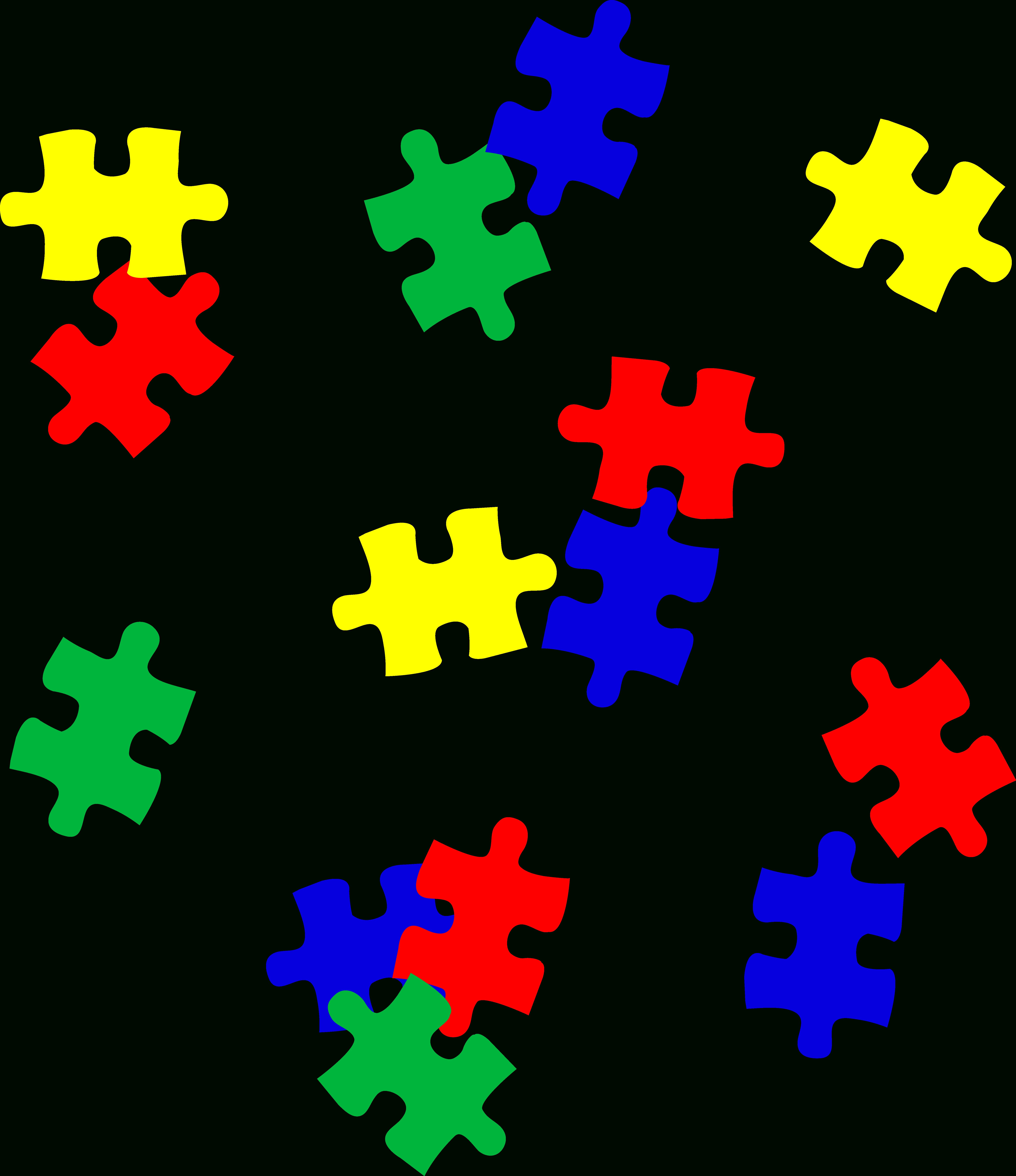 Free Autism Cliparts, Download Free Clip Art, Free Clip Art On - Free Printable Autism Puzzle Piece