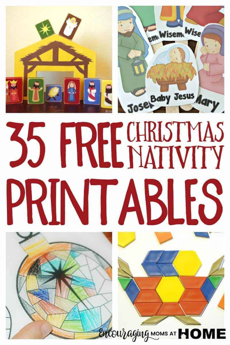 Free Christmas Nativity Printables And Coloring Pages - Printable Nativity Puzzle