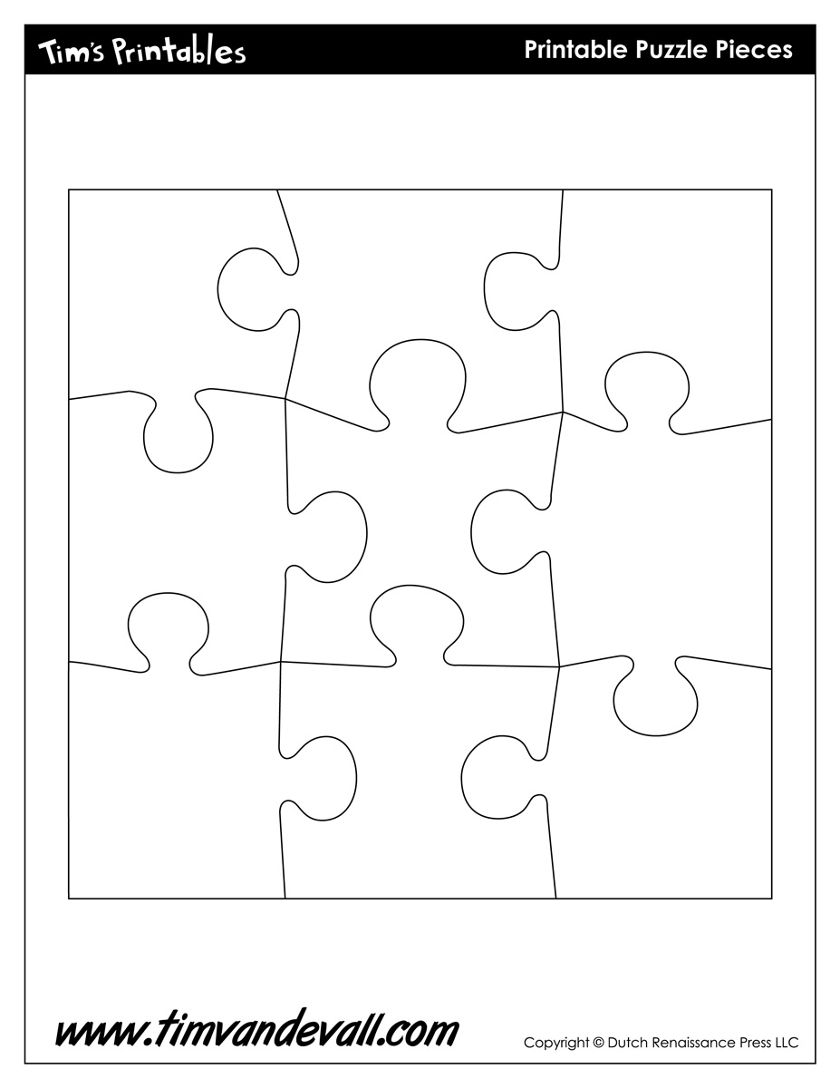 Free Clipart Puzzle Piece Shapes Plugin Puzzle Piece Black Shape Ios - 7 Piece Printable Puzzle