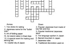 Free Crossword Puzzle Maker Printable 50 Words