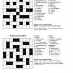 Free Crossword Puzzle Maker Printable   Stepindance.fr   Free   Printable Crossword And Answers