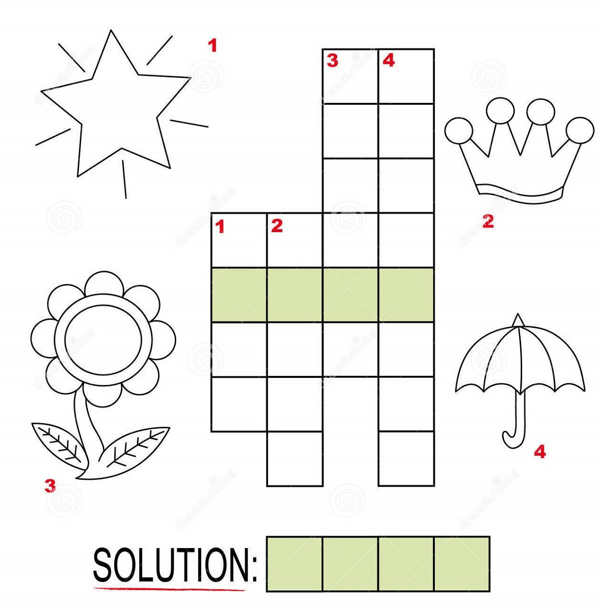 Free Crosswords For Kids Under Nine   Kiddo Shelter - Printable Crosswords For 6 Year Olds