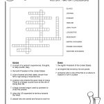 Free Crosswords Puzzle – History 1840-41 (B) – Surviving The Oregon – Printable History Crossword Puzzles