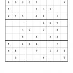 Free Downloadable Sudoku Puzzle Easy #6 | Puzzles | Sudoku Puzzles   Printable Sudoku Puzzles Easy #2