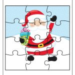 Free Educational Printable Christmas Puzzle Pack – Real And Quirky – Printable Santa Puzzle
