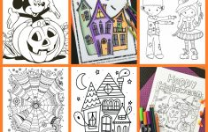 Printable Halloween Puzzle Pages