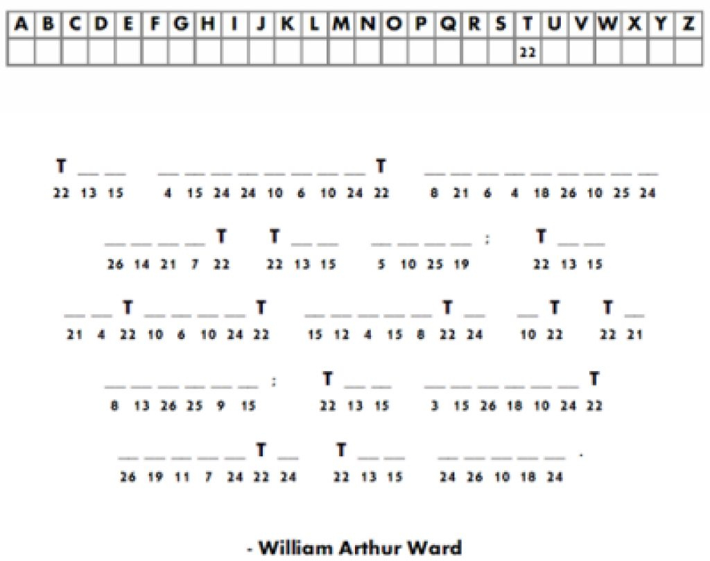 Free Printable Cryptograms With Answers | Free Printables - Printable Cryptogram Puzzles With Answers
