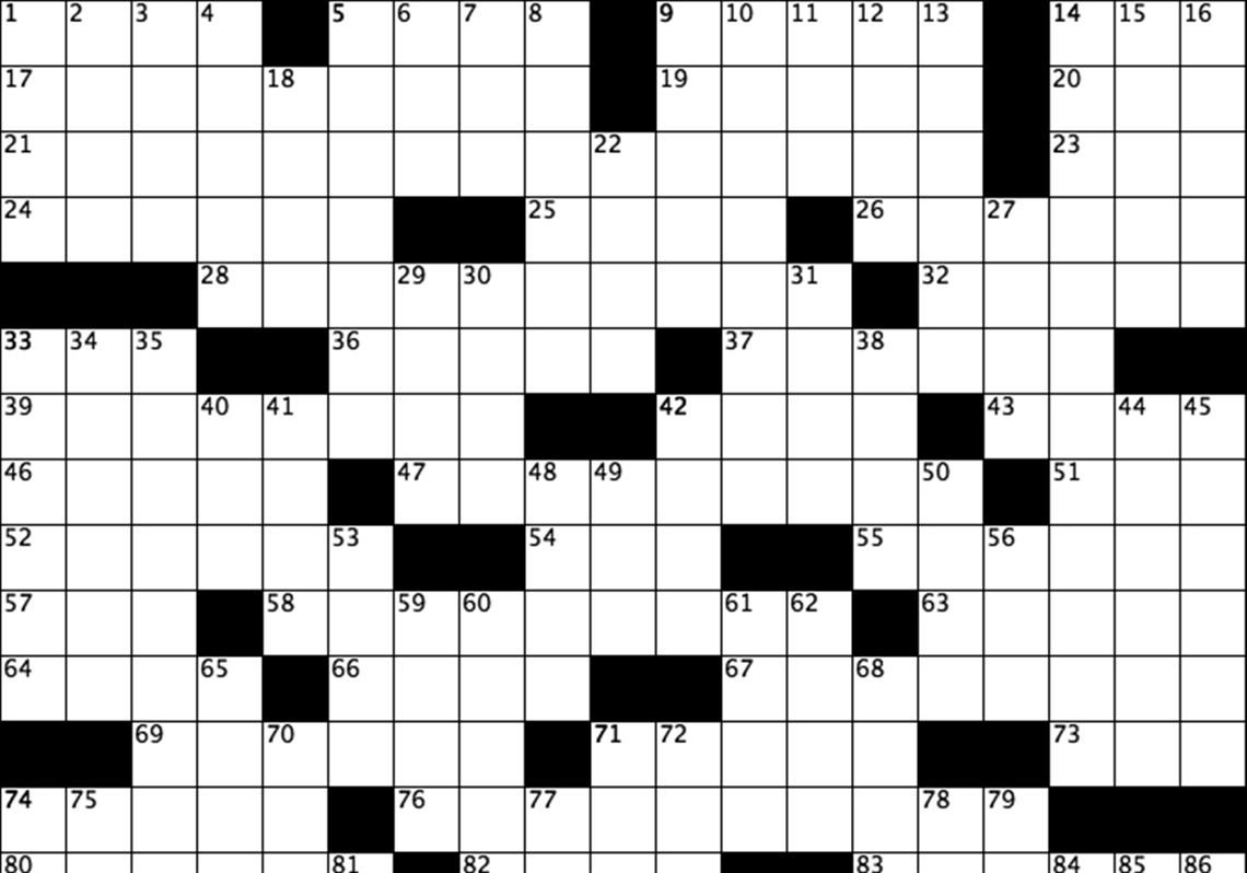 Free Printable Daily Crossword Puzzles (82+ Images In Collection) Page 1 - Printable Clueless Crossword Puzzles
