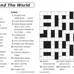 Free Printable Large Print Crossword Puzzles | M3U8   Printable Crossword Puzzle With Answer Key