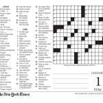 Free Printable Large Print Crossword Puzzles | M3U8   Printable Crossword Puzzles For Elderly