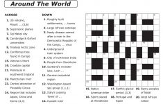 Free Printable Large Print Crossword Puzzles | M3U8 – Printable Puzzles For 13 Year Olds