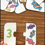 Free Printable Number Match Puzzles   Simply Kinder   Printable Puzzles Kindergarten