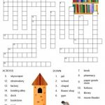 Free Printable Spanish Crossword Puzzles From Printablespanish   Printable Crossword Puzzles Spanish