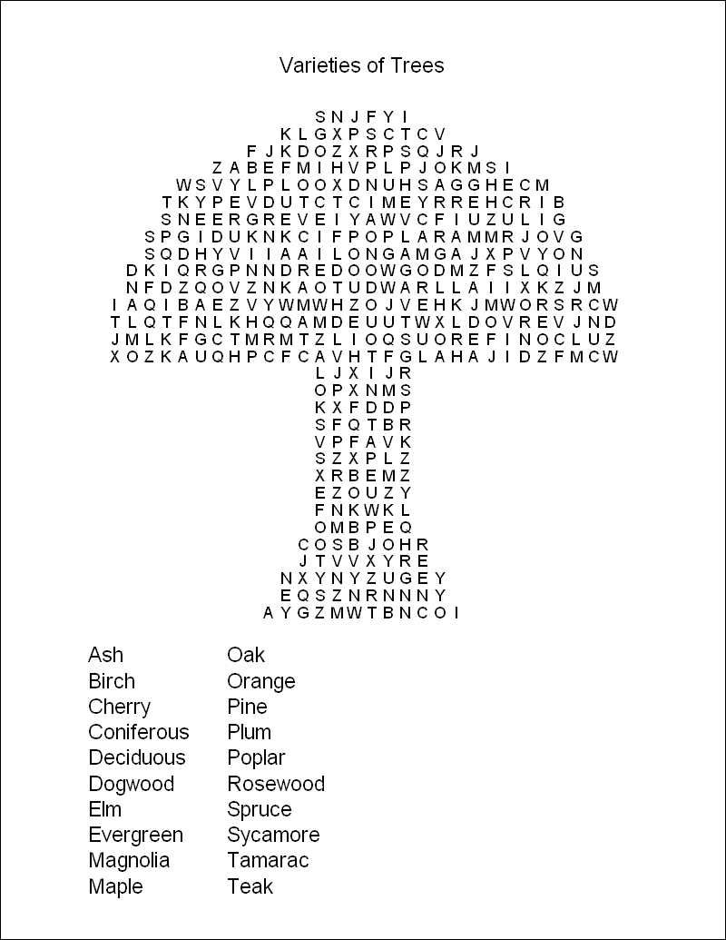 Free Printable Word Search Puzzles | Word Puzzles | Projects To Try - Printable Puzzle Challenges