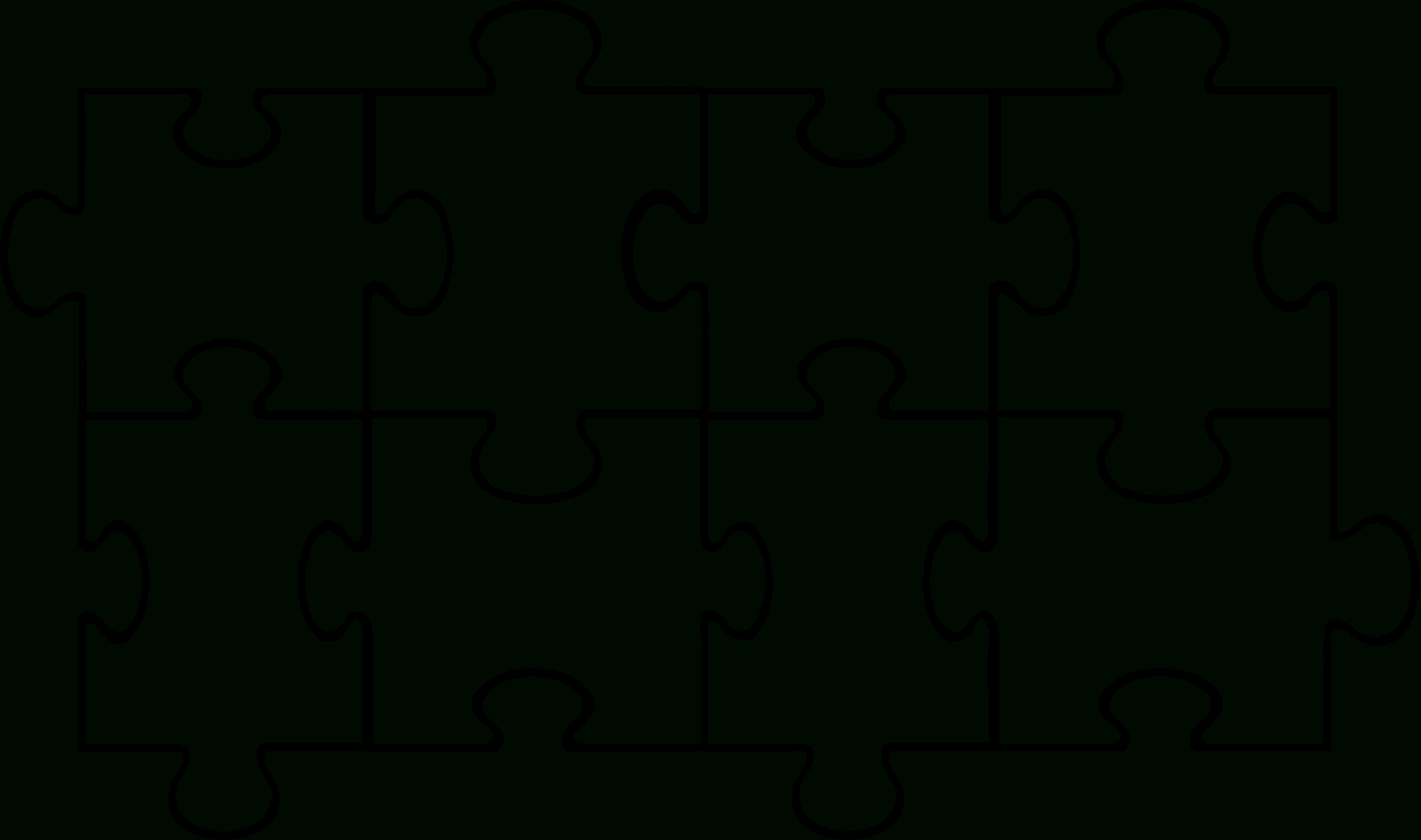 Free Puzzle Pieces Template, Download Free Clip Art, Free Clip Art - Free Printable Large Puzzle Pieces