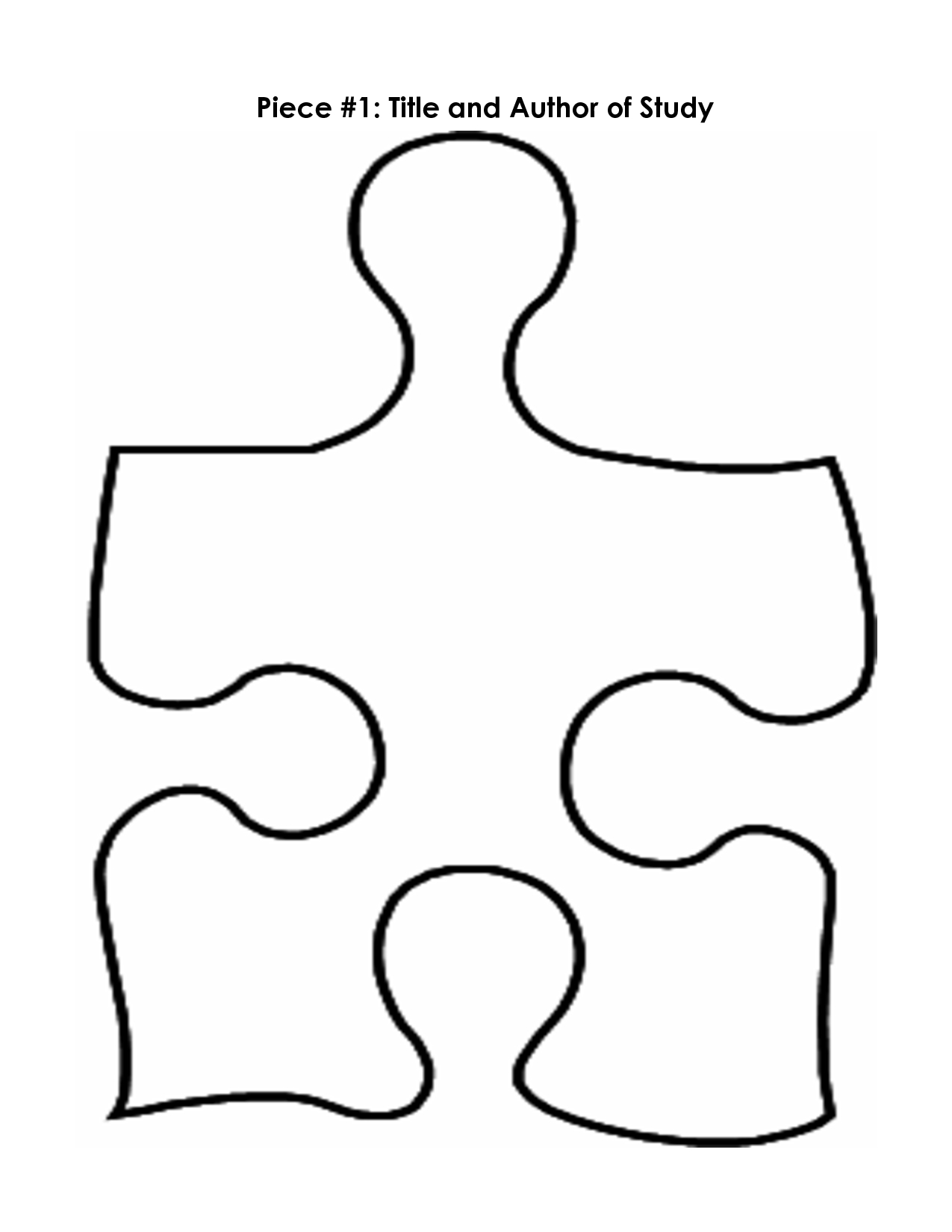 Free Puzzle Pieces Template, Download Free Clip Art, Free Clip Art - Printable Giant Puzzle