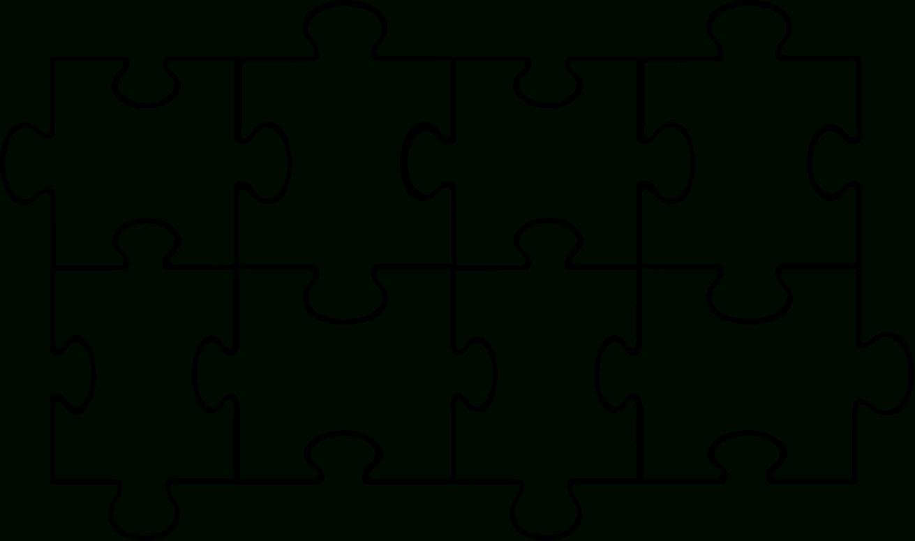 Free Puzzle Pieces Template, Download Free Clip Art, Free Clip Art - Printable Interlocking Puzzle Pieces