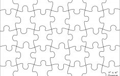 Printable Large Puzzle
