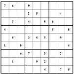 Free Sudoku Puzzles | Enjoy Daily Free Sudoku Puzzles From Walapie   Printable Sudoku Puzzles One Per Page