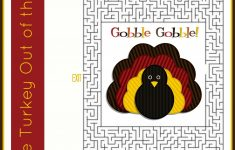 Printable Thanksgiving Puzzles