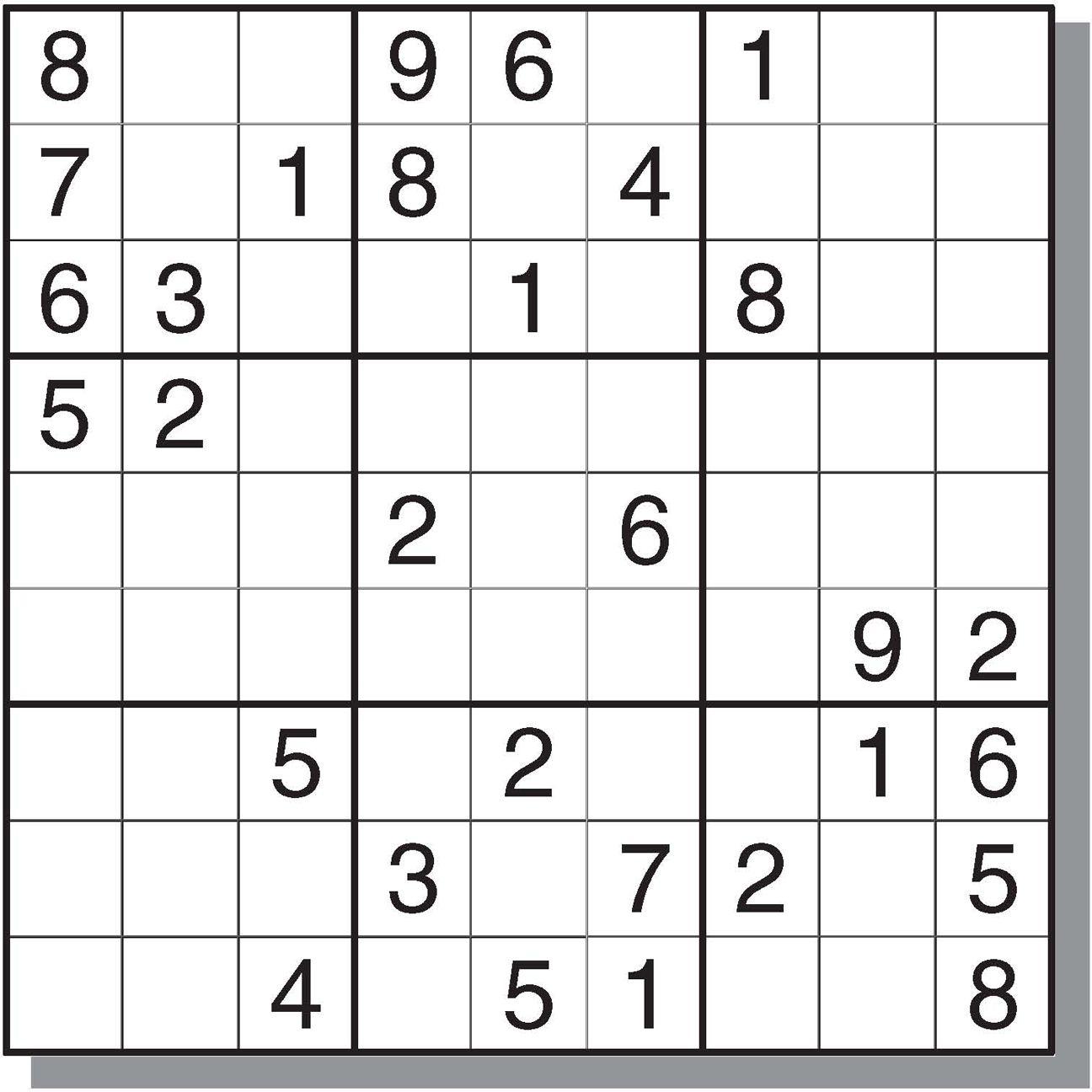 Free&easy Printable Sudoku Puzzles | Sudoku | Sudoku Puzzles, Games - Printable Sudoku Puzzles Krazydad