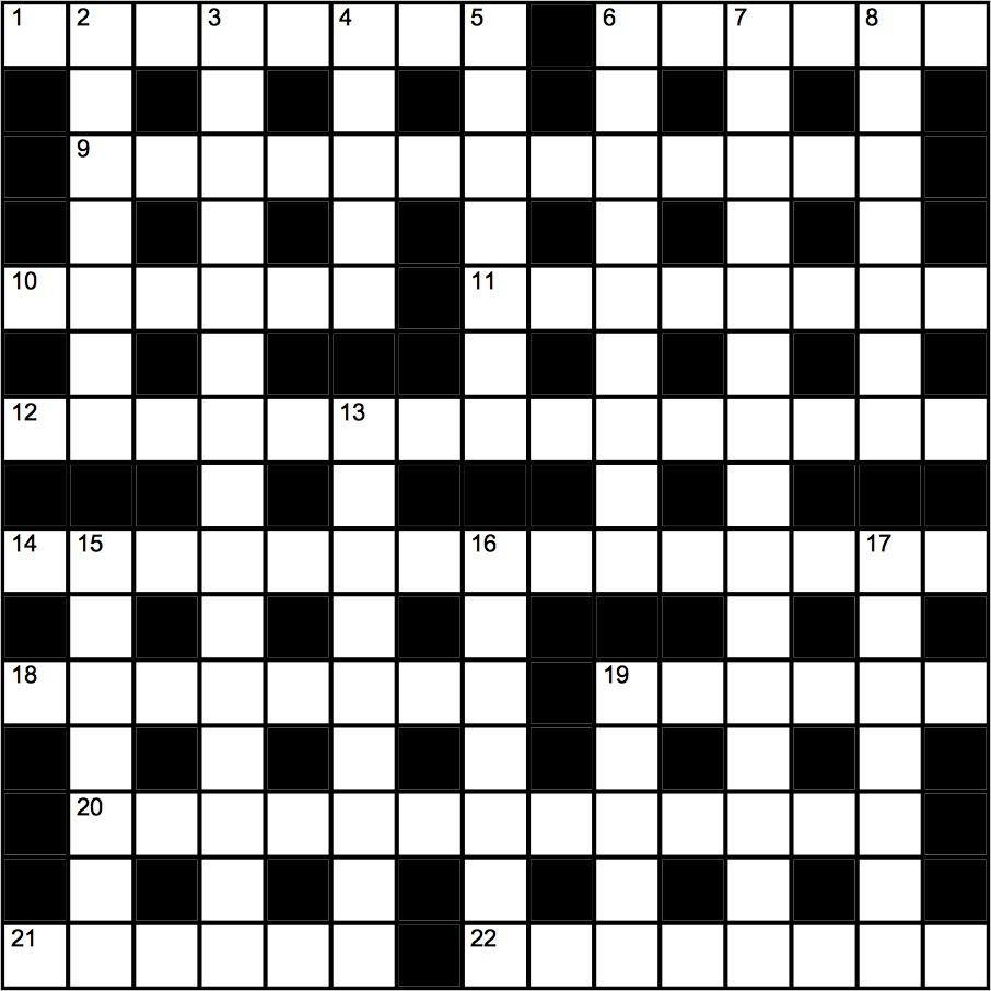 Genius Crossword No 143 | Crosswords | The Guardian - Guardian Quick Crossword Printable Version