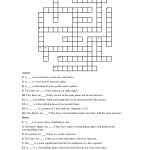 Geometry+Terms+Crossword+Puzzle   Paper Crafts   Crossword, Puzzle   Printable Conflict Resolution Crossword Puzzle