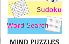 Printable Puzzle Booklet