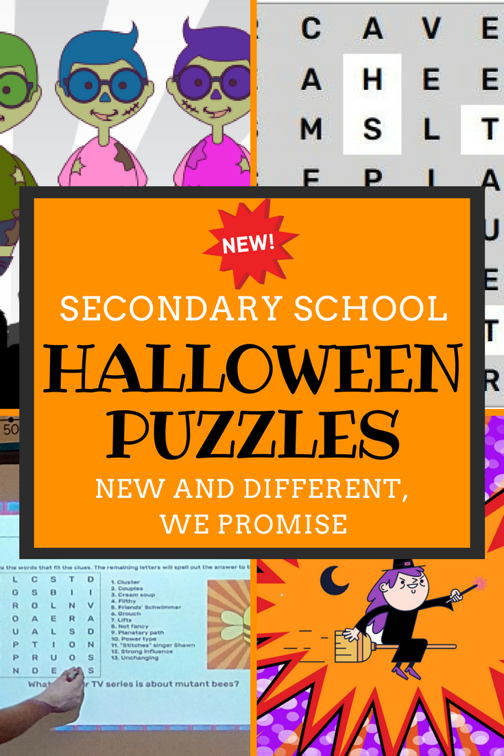 Halloween Activities For Middle School - Reading | Today's Schools - Printable Halloween Puzzles For Middle School