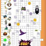Halloween Crossword For Beginners | Esl Worksheets Of The Day   Printable Halloween Crossword