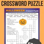 Halloween Crossword Puzzle #3 | Fall Fun | Halloween Crossword   Halloween Crossword Puzzle Printable 3Rd Grade