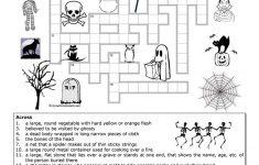 Halloween Crossword Puzzle Printable