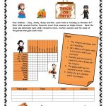 Halloween Logic Puzzle Worksheet   Free Esl Printable Worksheets   Printable Reading Puzzles