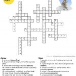 Happy Groundhog's Day!! Below Is A Printable Groundhog's Day Answer   Groundhog Day Crossword Puzzles Printable