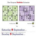 Happy International Sudoku Day! Page A Day   Printable Mensa Puzzles