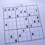 Hard Printable Sudoku Puzzles 2 Per Page – Book 1 – Free Sudoku Puzzles – Printable Sudoku Puzzle Hard