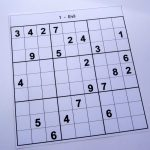 Hard Printable Sudoku Puzzles 2 Per Page – Book 1 – Free Sudoku Puzzles   Printable Sudoku Puzzles One Per Page