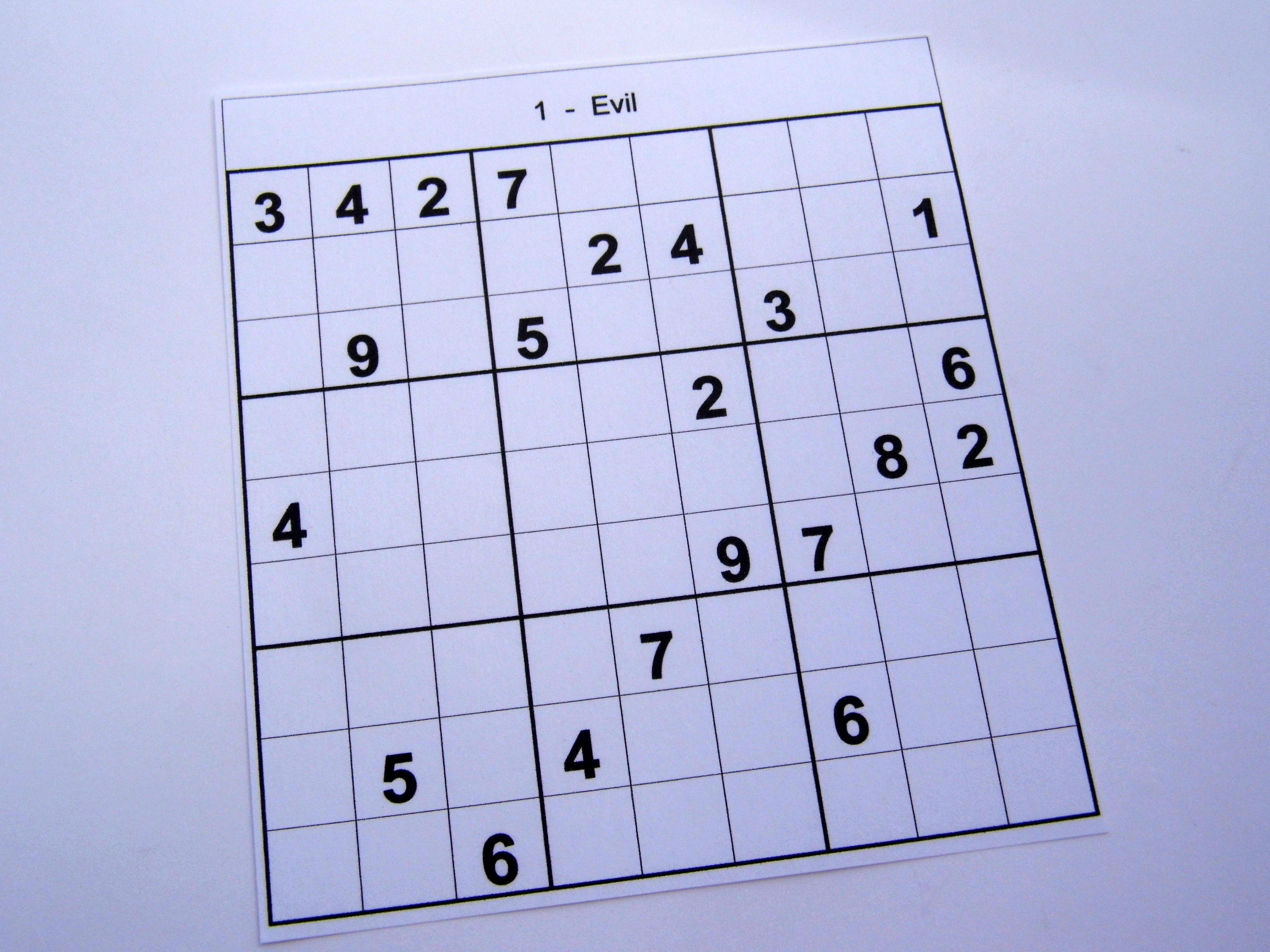 Hard Printable Sudoku Puzzles 2 Per Page – Book 1 – Free Sudoku Puzzles - Printable Sudoku Puzzles One Per Page