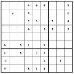Hard Puzzle | Free Sudoku Puzzles | Printable Sudoku 4 Per Page   Printable Sudoku Puzzles Very Hard
