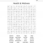 Health & Wellness Word Search   Wordmint   Printable Wellness Crossword Puzzles